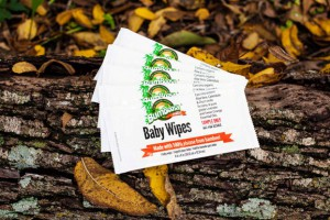 Samples of Bum Boosa Bamboo Baby Wipes