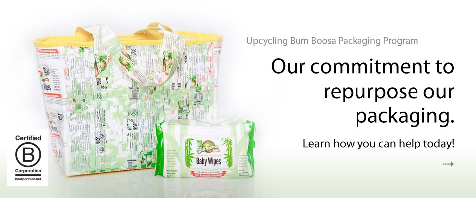 Bum Boosa Family Upcycling Bcorp